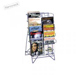 ชั้นโฆษณาสินค้าวางบนเคาน์เตอร์ รุ่น ชุดโครงขายนิตยสาร