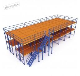 ชั้นลอยน็อคดาวน์ แบบ 3 ชั้น (Mezzanine Floor System)